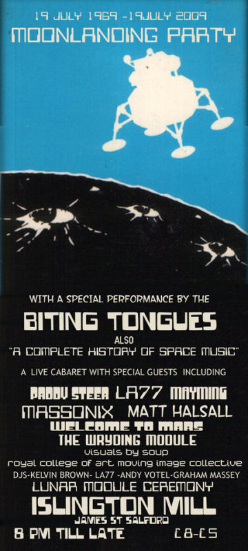 Biting Tongues, Moonlanding Party, Islington Mill, Salford