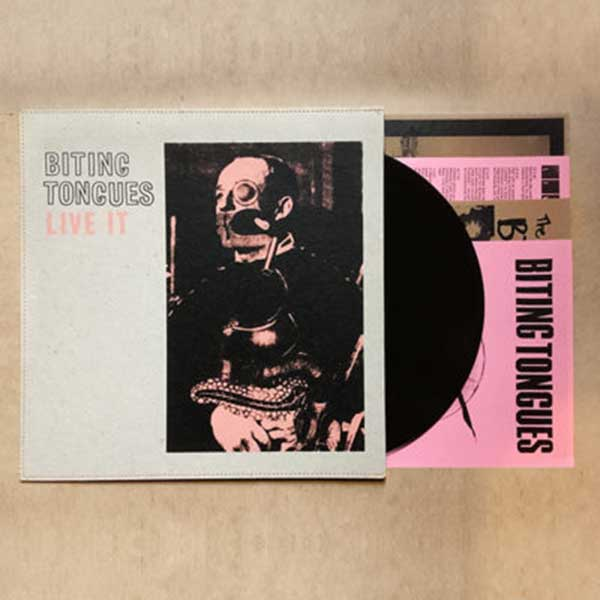 Biting Tongues - Live It (Reissue) - Limited - UK LP - Cover